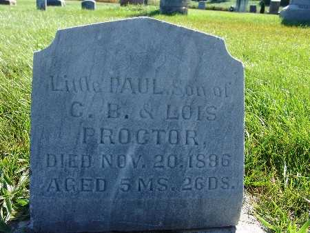 PROCTOR, PAUL - Warren County, Iowa | PAUL PROCTOR