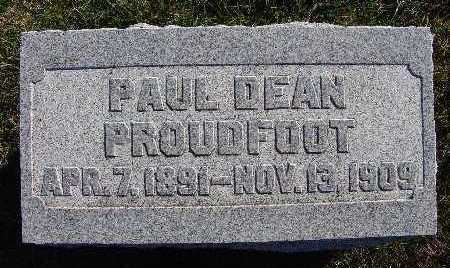 PROUDFOOT, PAUL DEAN - Warren County, Iowa | PAUL DEAN PROUDFOOT