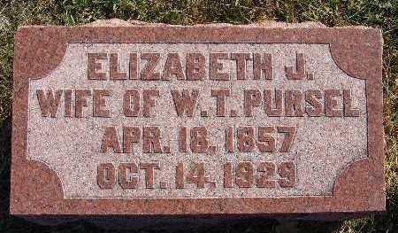 PURSEL, ELIZABETH J. - Warren County, Iowa | ELIZABETH J. PURSEL