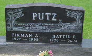 PUTZ, HATTIE P - Warren County, Iowa | HATTIE P PUTZ
