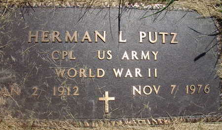 PUTZ, HERMAN L - Warren County, Iowa | HERMAN L PUTZ