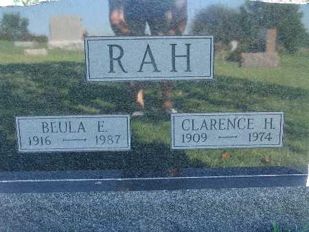 RAH, CLARENCE H - Warren County, Iowa | CLARENCE H RAH