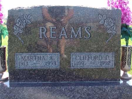 REAMS, MARTHA A - Warren County, Iowa | MARTHA A REAMS