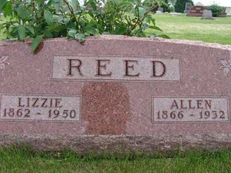 REED, LIZZIE - Warren County, Iowa | LIZZIE REED