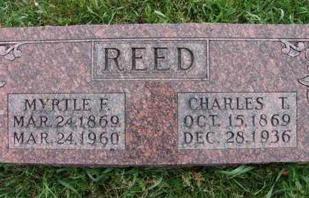 REED, MYRTLE F. - Warren County, Iowa | MYRTLE F. REED