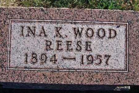 REESE, INA K. WOOD - Warren County, Iowa | INA K. WOOD REESE