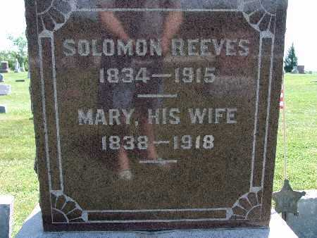 REEVES, SOLOMON - Warren County, Iowa | SOLOMON REEVES