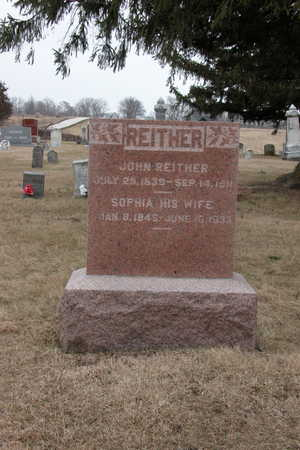 REITHER, SOPHIA - Warren County, Iowa | SOPHIA REITHER