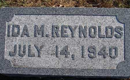 REYNOLDS, IDA M. - Warren County, Iowa | IDA M. REYNOLDS