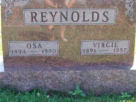 REYNOLDS, VIRGIL - Warren County, Iowa | VIRGIL REYNOLDS