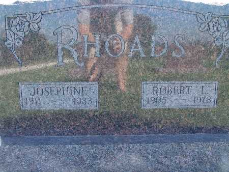 RHOADS, ROBERT L - Warren County, Iowa | ROBERT L RHOADS