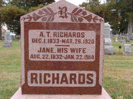 RICHARDS, JANE - Warren County, Iowa | JANE RICHARDS