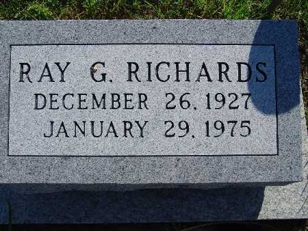 RICHARDS, RAY G - Warren County, Iowa | RAY G RICHARDS