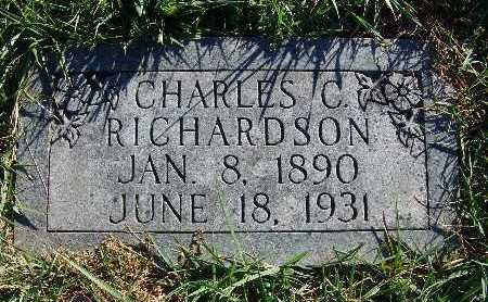 RICHARDSON, CHARLES C. - Warren County, Iowa | CHARLES C. RICHARDSON