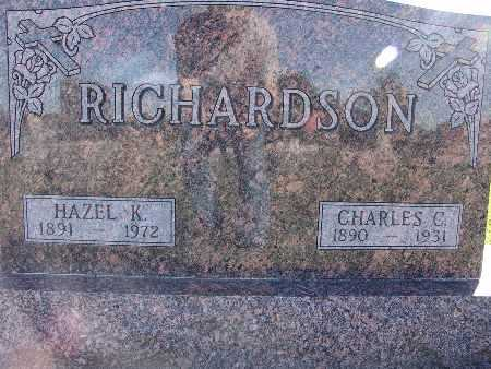RICHARDSON, HAZEL K. - Warren County, Iowa | HAZEL K. RICHARDSON