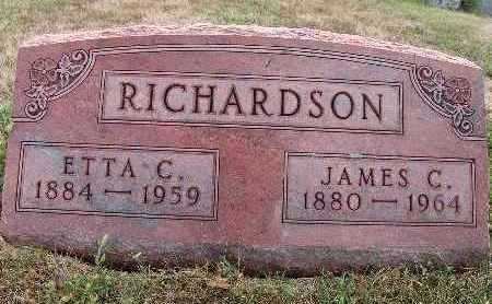 RICHARDSON, JAMES C. - Warren County, Iowa | JAMES C. RICHARDSON