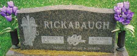 RICKABAUGH, A. WAYNE - Warren County, Iowa | A. WAYNE RICKABAUGH