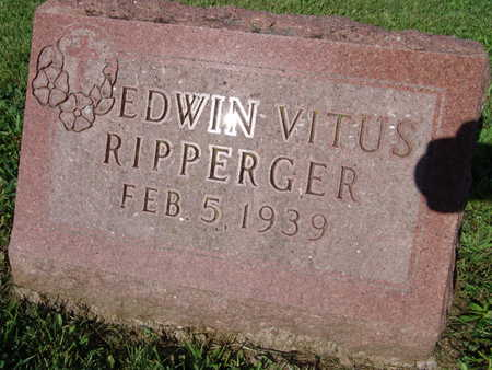 RIPPERGER, EDWIN VITUS - Warren County, Iowa | EDWIN VITUS RIPPERGER