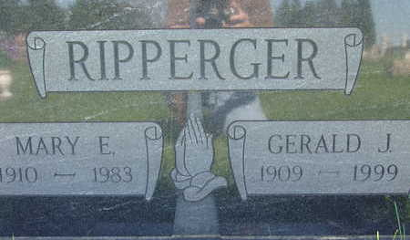 RIPPERGER, MARY E - Warren County, Iowa | MARY E RIPPERGER