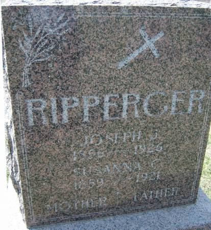 RIPPERGER, SUSANNA C - Warren County, Iowa | SUSANNA C RIPPERGER