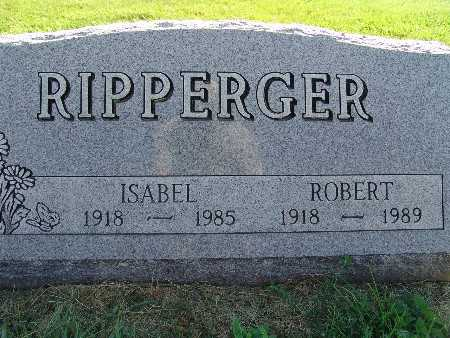 RIPPERGER, ISABEL - Warren County, Iowa | ISABEL RIPPERGER