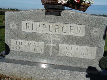 RIPPERGER, CLARA - Warren County, Iowa | CLARA RIPPERGER