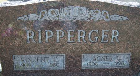RIPPERGER, AGNES C - Warren County, Iowa | AGNES C RIPPERGER