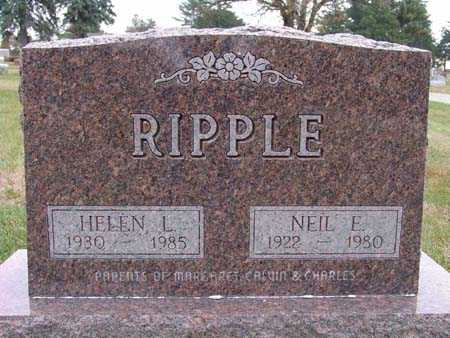 RIPPLE, NEIL E. - Warren County, Iowa | NEIL E. RIPPLE