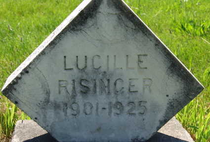 RISINGER, LUCILLE - Warren County, Iowa | LUCILLE RISINGER