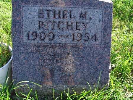 RITCHEY, ETHEL M - Warren County, Iowa | ETHEL M RITCHEY