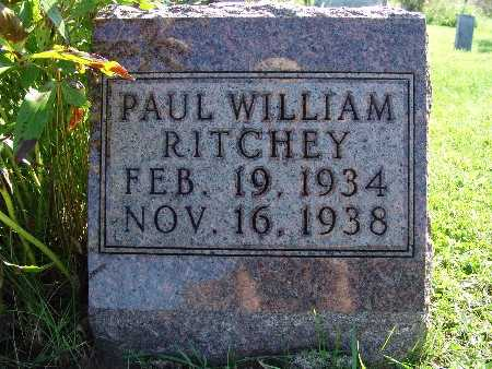 RITCHEY, PAUL WILLIAM - Warren County, Iowa | PAUL WILLIAM RITCHEY
