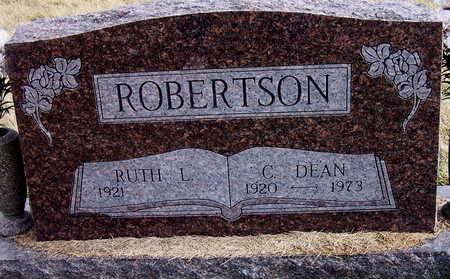 ROBERTSON, C. DEAN - Warren County, Iowa | C. DEAN ROBERTSON