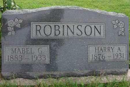 ROBINSON, MABEL G. - Warren County, Iowa | MABEL G. ROBINSON