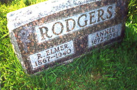 RODGERS, R. ELMER - Warren County, Iowa | R. ELMER RODGERS