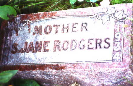 RODGERS, S. JANE - Warren County, Iowa | S. JANE RODGERS