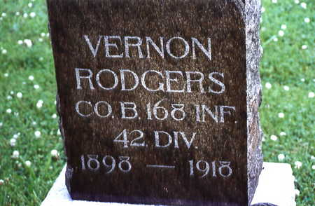RODGERS, VERNON - Warren County, Iowa | VERNON RODGERS