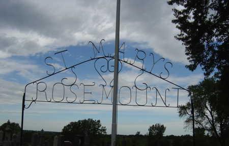 ROSEMOUNT, CEMETERY - Warren County, Iowa | CEMETERY ROSEMOUNT