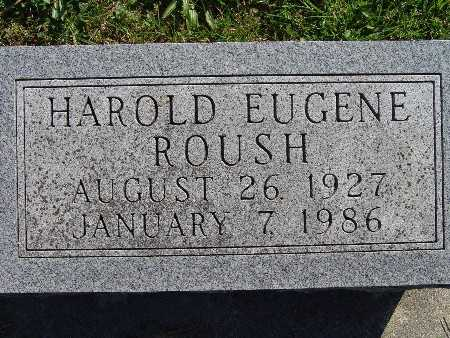 ROUSH, HAROLD EUGENE - Warren County, Iowa | HAROLD EUGENE ROUSH