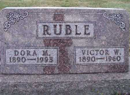 RUBLE, DORA M. - Warren County, Iowa | DORA M. RUBLE