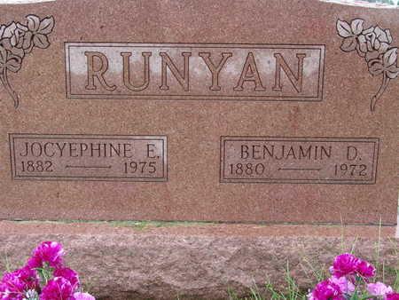 RUNYAN, JOCYEPHINE E - Warren County, Iowa | JOCYEPHINE E RUNYAN