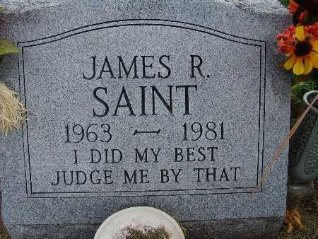 SAINT, JAMES R. - Warren County, Iowa | JAMES R. SAINT
