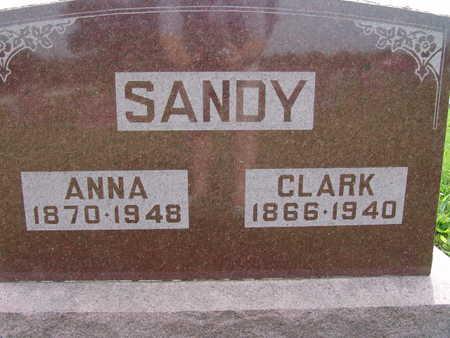 SANDY, ANNA - Warren County, Iowa | ANNA SANDY