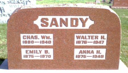 SANDY, CHARLES WILLIAM - Warren County, Iowa | CHARLES WILLIAM SANDY