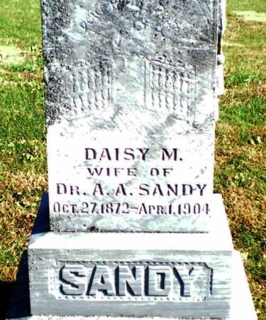 SANDY, DAISY M. - Warren County, Iowa | DAISY M. SANDY