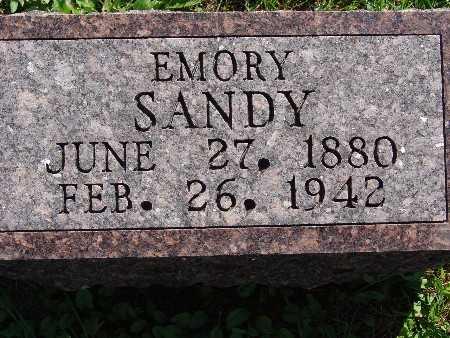 SANDY, EMORY - Warren County, Iowa | EMORY SANDY