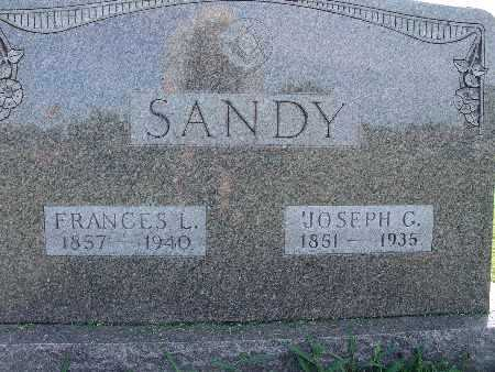SANDY, FRANCES L. - Warren County, Iowa | FRANCES L. SANDY