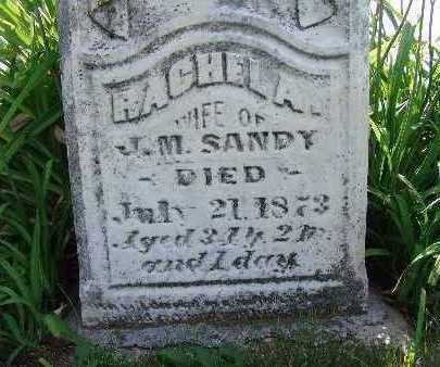 SANDY, RACHEL A. - Warren County, Iowa | RACHEL A. SANDY