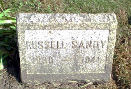 SANDY, RUSSELL - Warren County, Iowa | RUSSELL SANDY