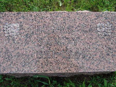 SANDY, THOMAS C - Warren County, Iowa | THOMAS C SANDY