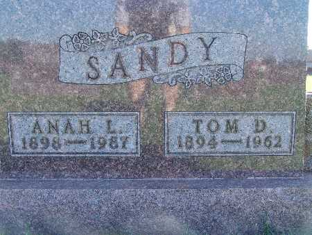SANDY, TOM D - Warren County, Iowa | TOM D SANDY